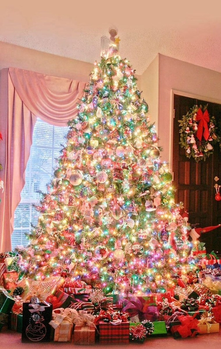 37 Totally Beautiful Vintage Christmas Tree Decoration Ideas 03