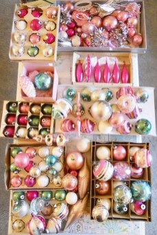 37 Totally Beautiful Vintage Christmas Tree Decoration Ideas 14