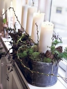 40 Awesome Scandinavian Christmas Decoration Ideas 22