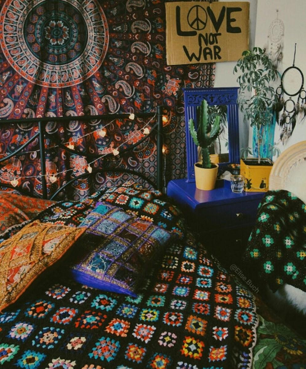 40 Unique Bohemian Bedroom Decoration Ideas 03