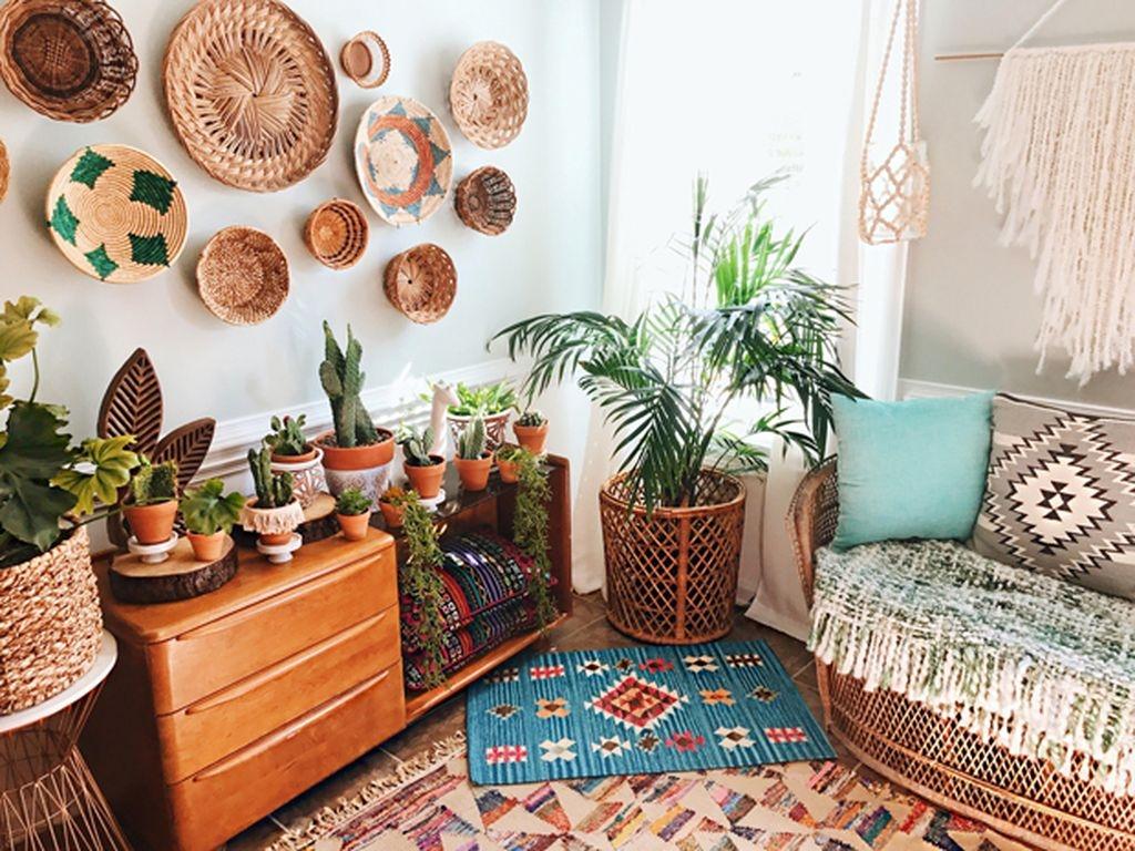 40 Unique Bohemian Bedroom Decoration Ideas 26