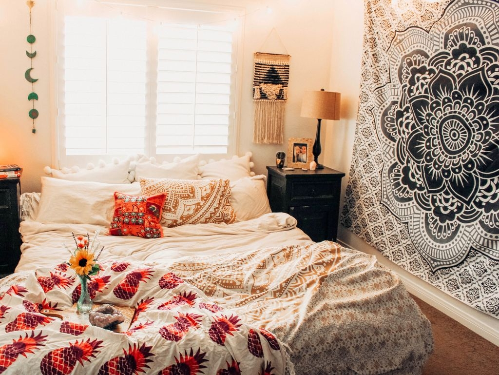 40 Unique Bohemian Bedroom Decoration Ideas 37