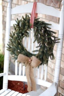 Beautiful Rustic Outdoor Christmas Decoration Ideas 29