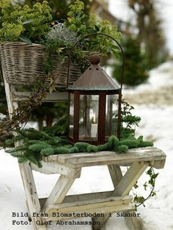 Beautiful Rustic Outdoor Christmas Decoration Ideas 33