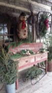 Beautiful Rustic Outdoor Christmas Decoration Ideas 35