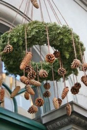 Beautiful Rustic Outdoor Christmas Decoration Ideas 42