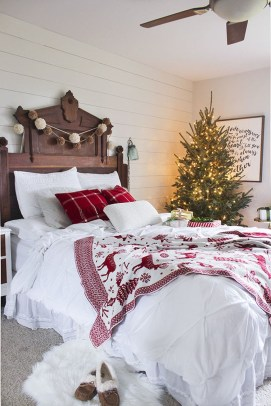 Cozy Christmas House Decoration 05