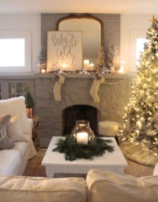 Cozy Christmas House Decoration 35