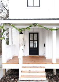 Cozy Christmas House Decoration 36
