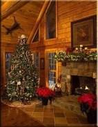 Cozy Christmas House Decoration 38