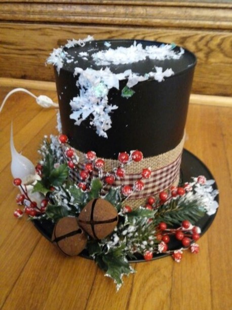 Cute And Cool Snowman Christmas Decoration Ideas 19