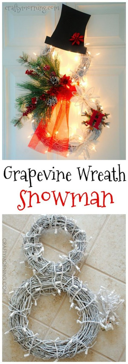 Cute And Cool Snowman Christmas Decoration Ideas 36