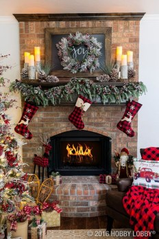 Elegant Rustic Christmas Decoration Ideas That Stands Out 07
