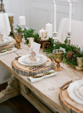 Elegant Rustic Christmas Decoration Ideas That Stands Out 40
