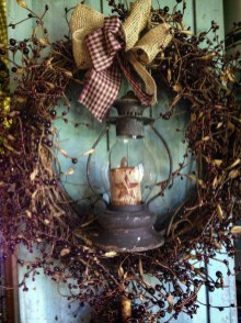 Elegant Rustic Christmas Wreaths Decoration Ideas To Celebrate Your Holiday 30