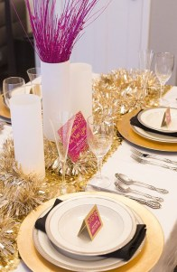 Gorgeous Pink And Gold Christmas Decoration Ideas 05