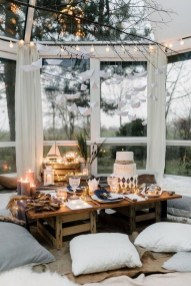 Inspiring Christmas Decoration Ideas For Your Apartment 23