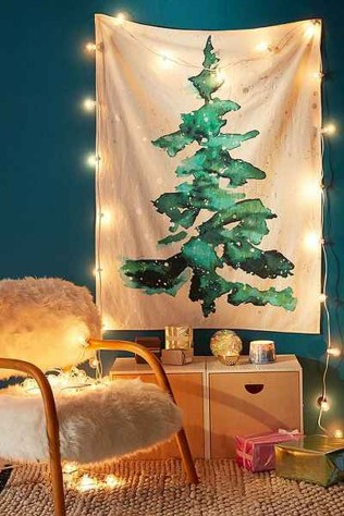 Inspiring Christmas Decoration Ideas For Your Apartment 53