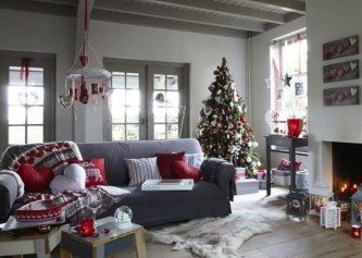 Inspiring Chritsmas Livingroom Ideas 19