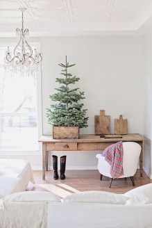 Inspiring Home Decoration Ideas With Small Christmas Tree 30