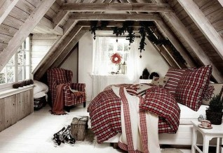 Simple Christmas Bedroom Decoration Ideas 07