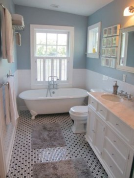 36 Cool Blue Bathroom Design Ideas 09