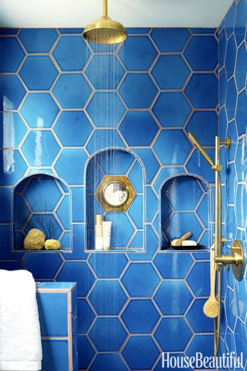 36 Cool Blue Bathroom Design Ideas 13