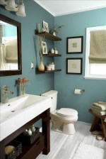 36 Cool Blue Bathroom Design Ideas 17