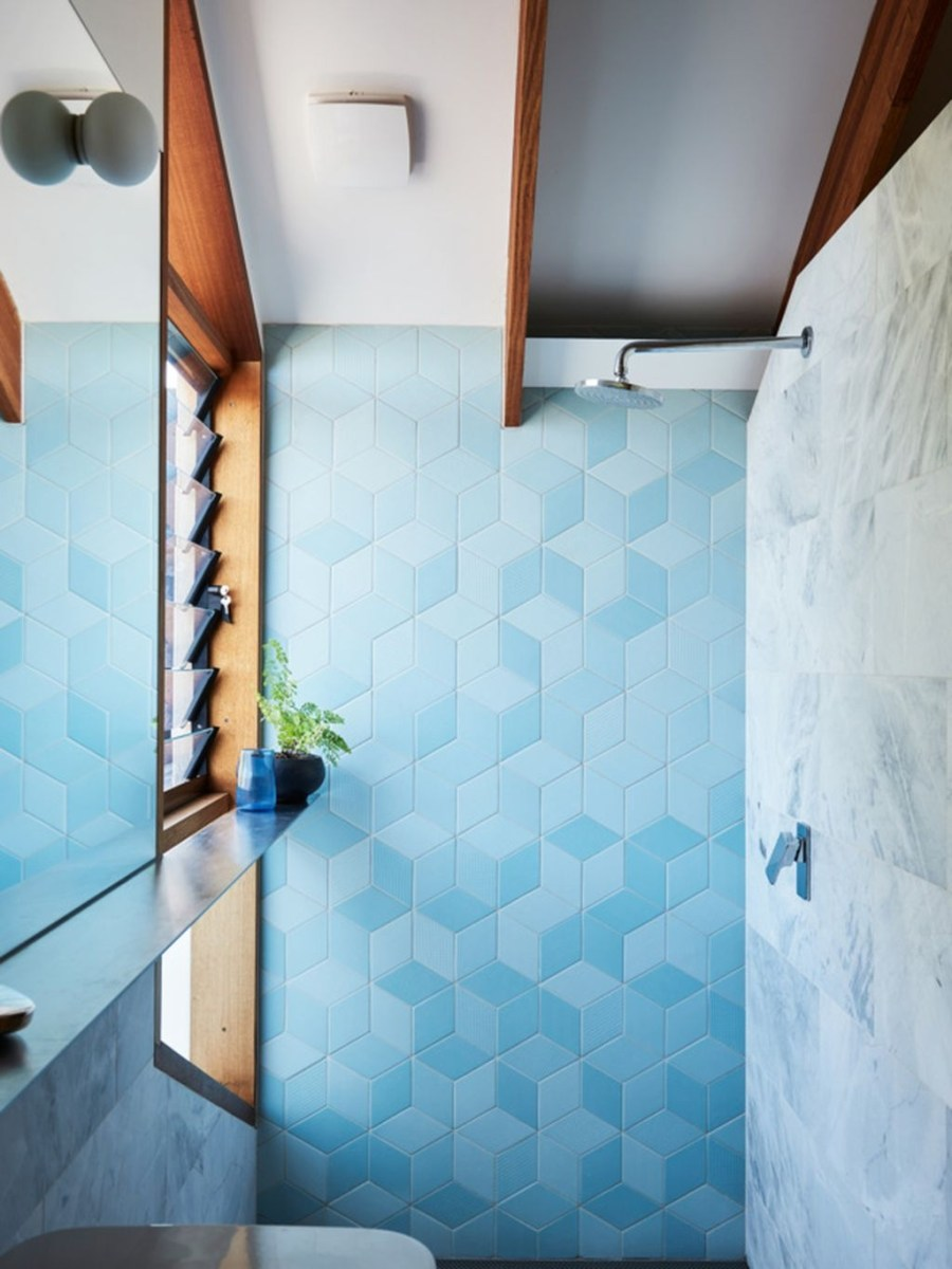 36 Cool Blue Bathroom Design Ideas 21