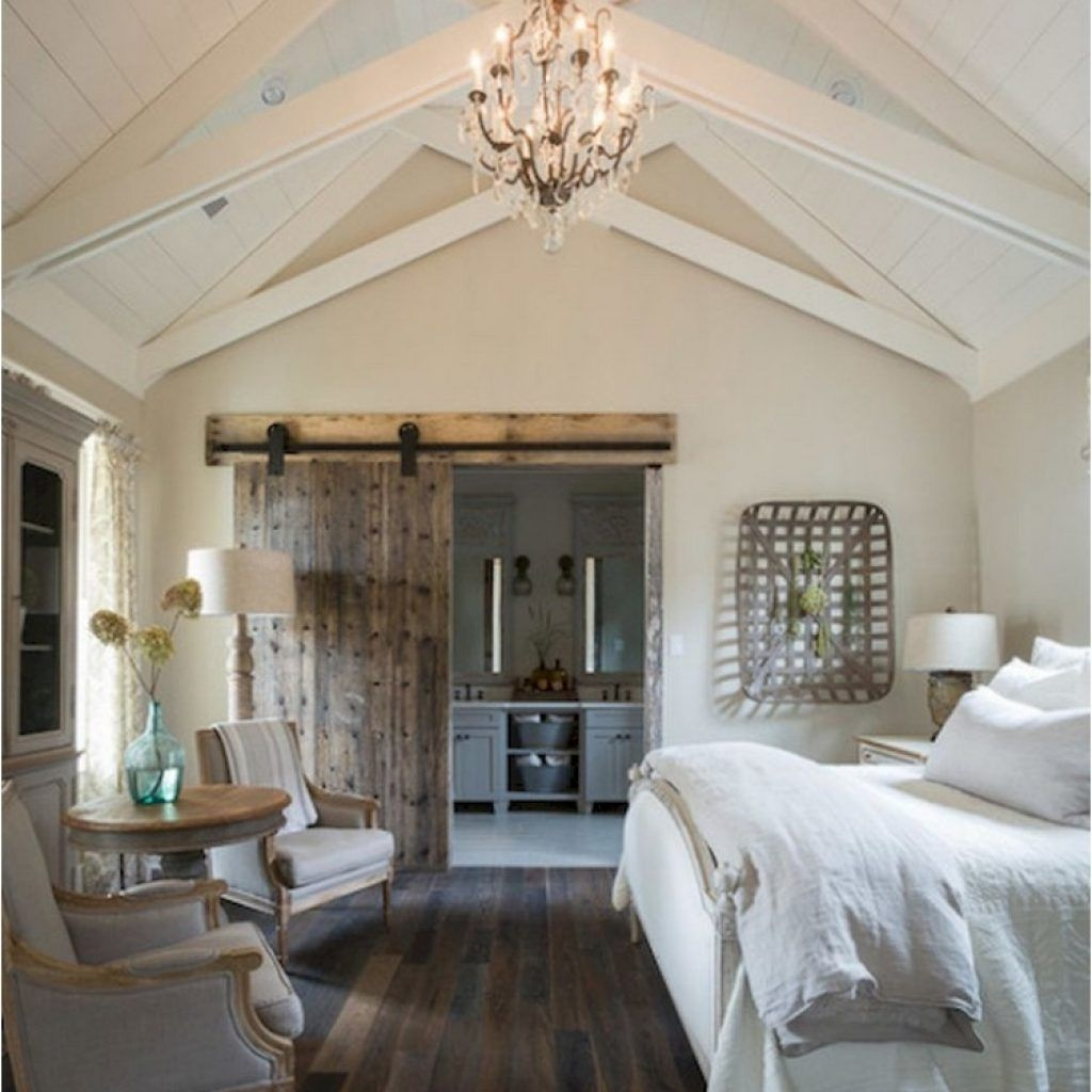37 Cozy Rustic Bedroom Design Ideas 08