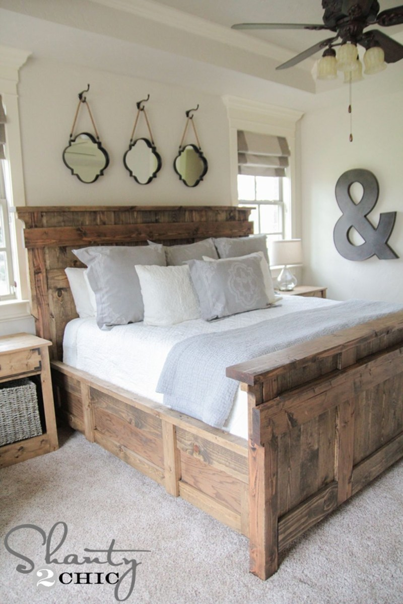 37 Cozy Rustic Bedroom Design Ideas 31
