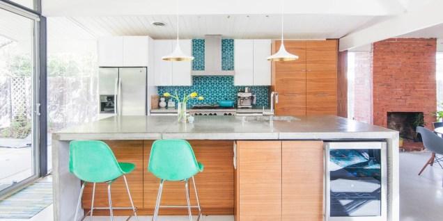 37 Stylish Mid Century Modern Kitchen Design Ideas 03