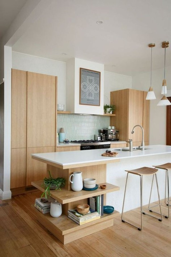 37 Stylish Mid Century Modern Kitchen Design Ideas 18