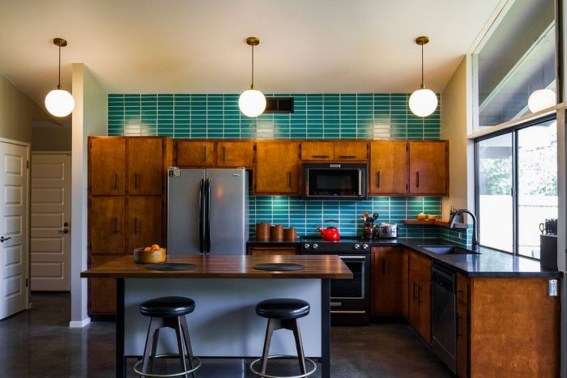 37 Stylish Mid Century Modern Kitchen Design Ideas 33