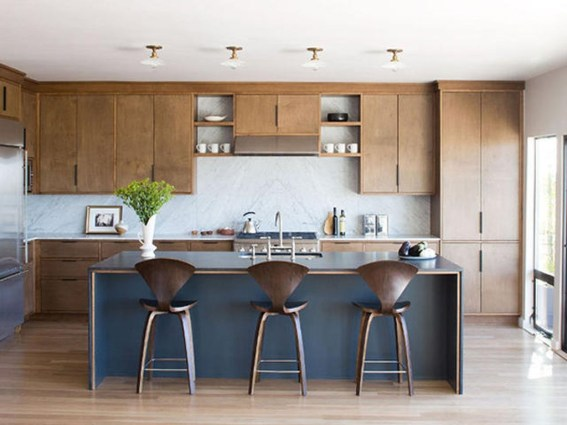 37 Stylish Mid Century Modern Kitchen Design Ideas 34