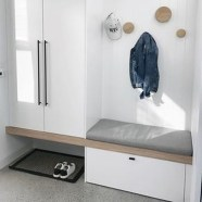 38 Brilliant Hallway Storage Decoration Ideas18
