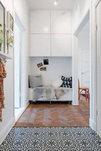 38 Brilliant Hallway Storage Decoration Ideas26