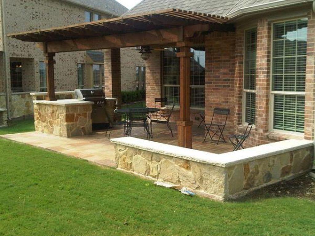 38 Cool Outdoor Kitchen Design Ideas 22