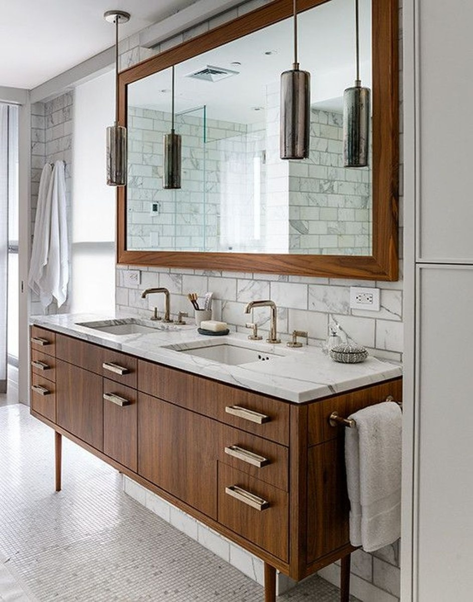 38 Trendy Mid Century Modern Bathrooms Ideas That Inspired 07