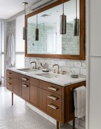 38 Trendy Mid Century Modern Bathrooms Ideas That Inspired 07
