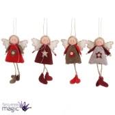 39 Brilliant Ideas How To Use Felt Ornaments For Christmas Tree Decoration 17