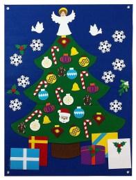39 Brilliant Ideas How To Use Felt Ornaments For Christmas Tree Decoration 30