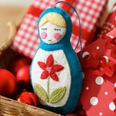 39 Brilliant Ideas How To Use Felt Ornaments For Christmas Tree Decoration 39