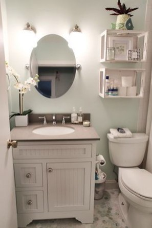 39 Cool And Stylish Small Bathroom Design Ideas13