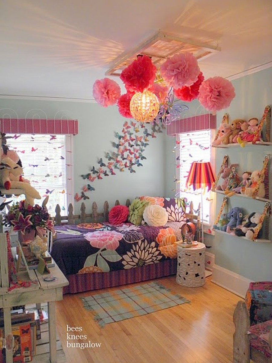 39 Wonderful Girls Room Design Ideas08