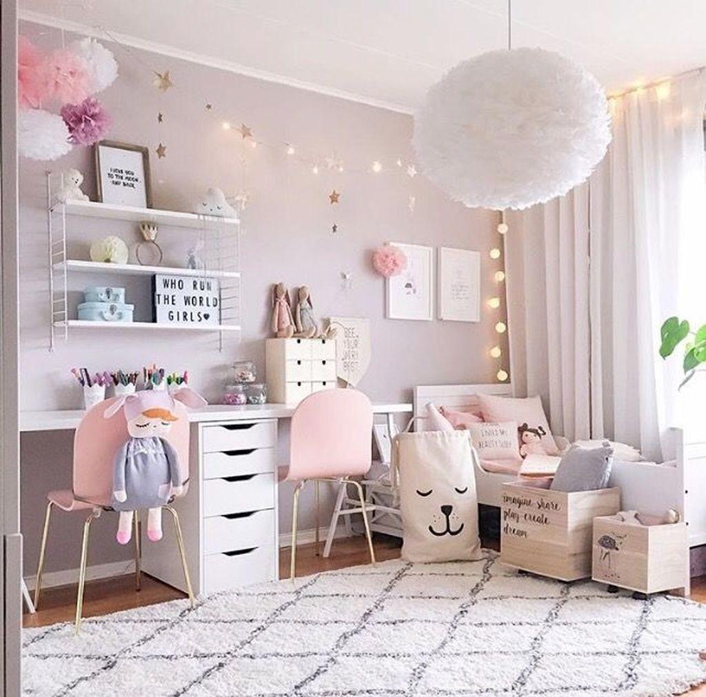 39 Wonderful Girls Room Design Ideas24