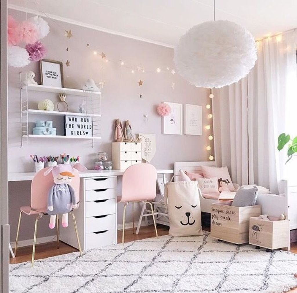 39 Wonderful Girls Room Design Ideas24