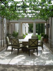 Adorable Outdoor Dining Area Furniture Ideas 05