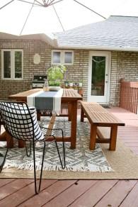 Adorable Outdoor Dining Area Furniture Ideas 08