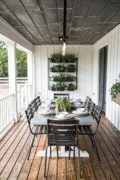 Adorable Outdoor Dining Area Furniture Ideas 11